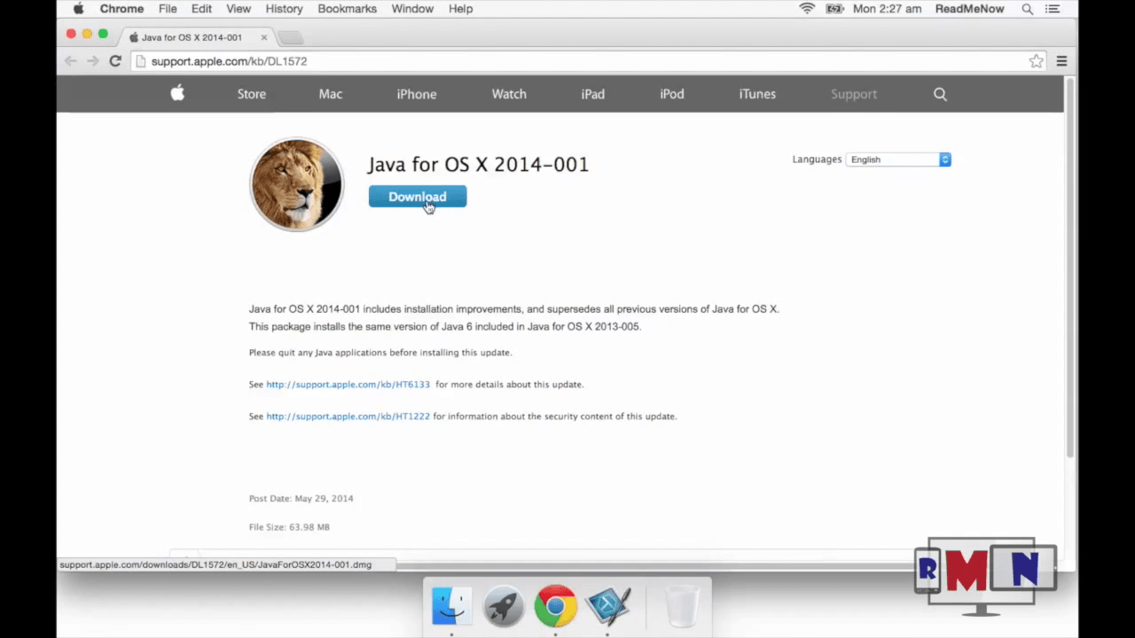 Download Java For Mac Os X Yosemite