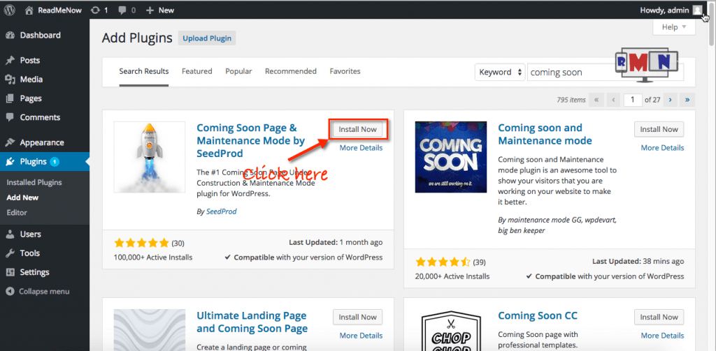 how to add a coming soon page wordpress tutorial
