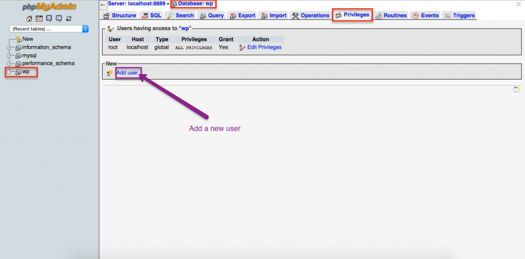 Install wordpress manually
