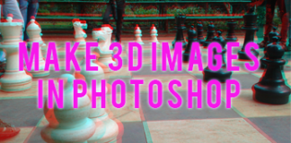 make 3d images in Photoshop