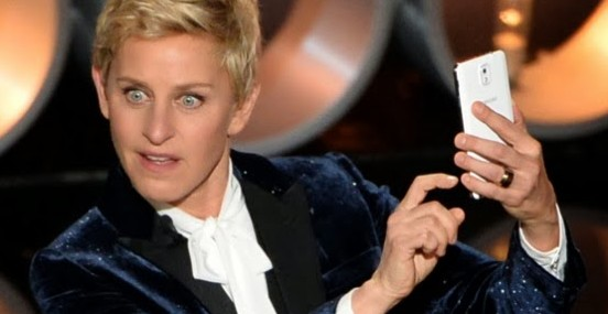 What did the Oscars 2014 and Ellen have in common?