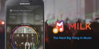 Samsung Milk Music App