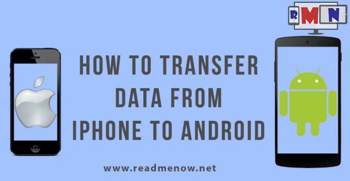 transfer data from android to iphone transfer data from iphone to android readmenow 19481