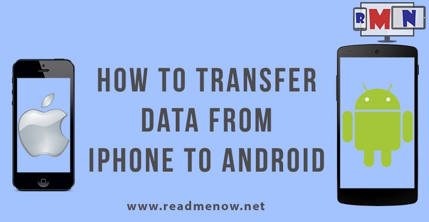 Transfer data from iPhone to Android