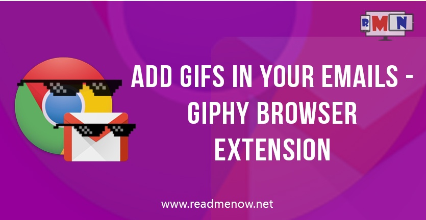 Add GIFs in your emails using Giphy extension