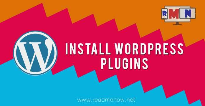 install wordpress plugins