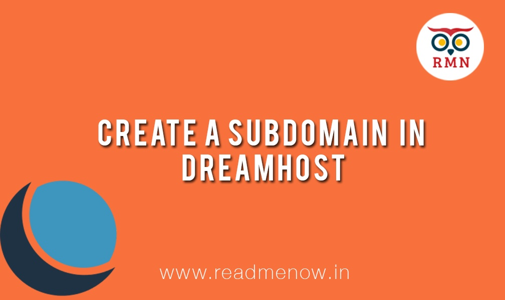 How to Add a Subdomain in Dreamhost