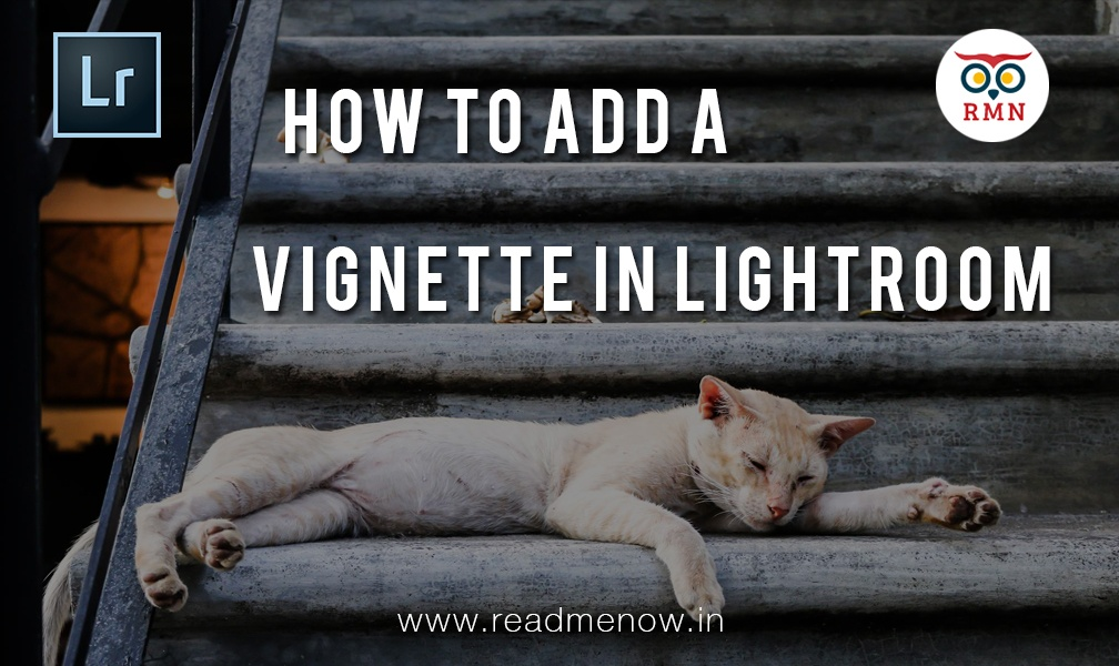 how to add vignette in photoshop