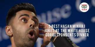 9 Best Hasan Minhaj Jokes at the White House Correspondents Dinner