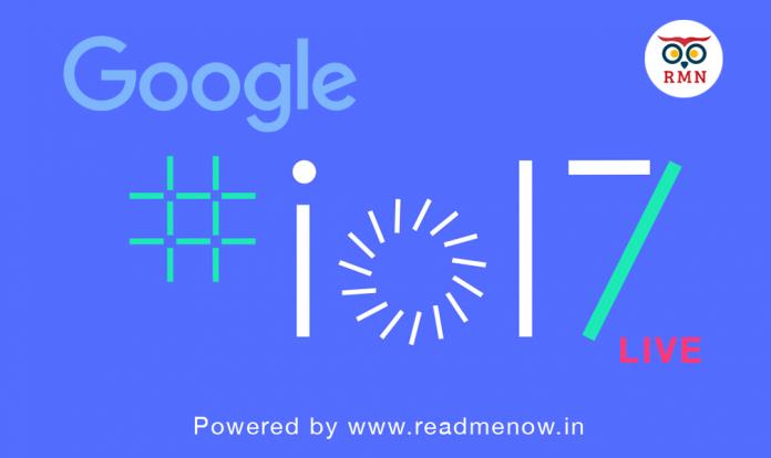 Google I/O Live ReadMeNow